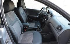 Авточехлы Leather Style для салона Volkswagen Polo '10-, седан, с деленой спинкой (MW Brothers)