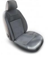 Авточехлы Dynamic для салона Volkswagen Polo '10-, седан, с цельной спинкой (MW Brothers)