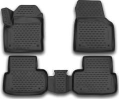 Коврики в салон для Land Rover Discovery Sport '14- полиуретановые (Novline / Element) 3D