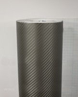 Защитная плёнка цвета графит под карбон 3D Graphjet (1 метр погонный)