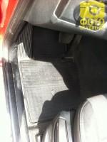 Коврики в салон передние для BMW X3 E83 '03-09 резиновые (Stingray)