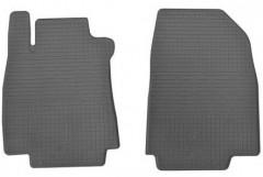 Коврики в салон передние для Nissan Tiida '05-14 резиновые (Stingray)