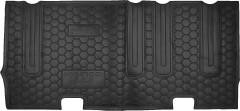 Коврики в салон для Hyundai H-1 '07- резиновые, черные, третий ряд (AVTO-Gumm)