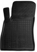Коврик в салон водительский для Nissan Sentra '14- резиновый, черный (AVTO-Gumm)