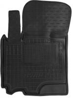 Коврик в салон водительский для Suzuki Swift '10-17, резиновый, черный (AVTO-Gumm)