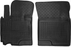 Коврики в салон передние для Suzuki Swift '10-17, резиновые, черные (AVTO-Gumm)
