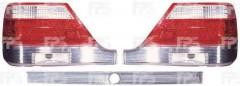 Фонарь задний для Mercedes S-class W140 '95-98, левый, желтая вставка (FPS)