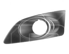 Решетка в бампер для Chevrolet Aveo '11-, правая, с отв. ПТФ (FPS)