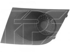 Решетка в бампер для Nissan Tiida '05-09 европ. версия, левая, без отв. ПТФ (FPS)
