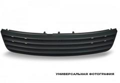 Решетка радиатора для Skoda Fabia II '07-10, черн. ребра, хром. низ (FPS)