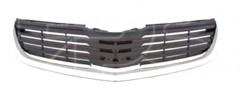 Решетка радиатора для Mitsubishi Galant '06-08, с хром. молдингом (FPS)