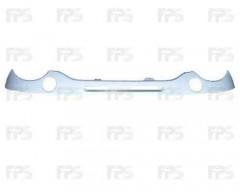 Полоска под фары для Daewoo Matiz '01-, с отв. воздухозаборника, темно-серая (FPS)