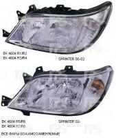 Фара передняя для Mercedes Sprinter '00-02 правая (DEPO) электрич., H1+H7 440-1131R-LD-EM