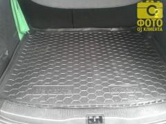 Фото 10 - Коврик в багажник для Renault Megane 3 '08-16 универсал, резиновый (AVTO-Gumm)