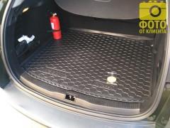 Фото 11 - Коврик в багажник для Renault Megane 3 '08-16 универсал, резиновый (AVTO-Gumm)