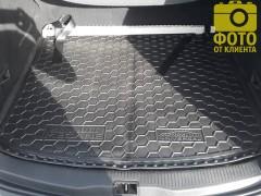 Фото 12 - Коврик в багажник для Renault Megane 3 '08-16 универсал, резиновый (AVTO-Gumm)