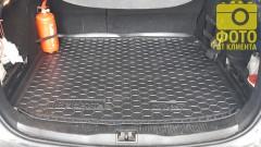 Фото 14 - Коврик в багажник для Renault Megane 3 '08-16 универсал, резиновый (AVTO-Gumm)