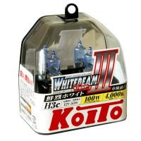 Автомобильная лампочка Koito Whitebeam III H3 12V kt p0752w (комплект: 2 шт)