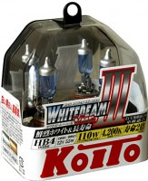 Автомобильная лампочка Koito Whitebeam III HB4 12V kt p0757w (комплект: 2 шт)
