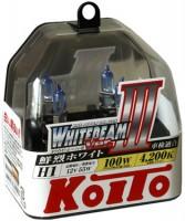 Автомобильная лампочка Koito Whitebeam III H1 12V kt p0751w (комплект: 2 шт)