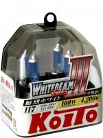Автомобильная лампочка Koito Whitebeam III H7 12V kt p0755w (комплект: 2 шт)