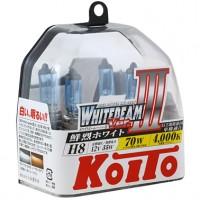 Автомобильная лампочка Koito Whitebeam III H8 12V kt p0758w (комплект: 2 шт)