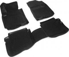 Коврики в салон для Hyundai i-20 '15-, полиуретановые, черные (Lada Locker)
