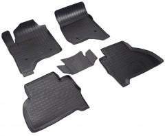 Коврики в салон для Cadillac Escalade '15-, полиуретановые, черные (Nor-Plast)
