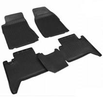 Коврики в салон для Chevrolet Trail Blazer '12-, 5 мест , полиуретановые, черные (Nor-Plast)