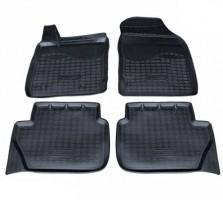 Коврики в салон для Ford Ecosport '15-, полиуретановые, черные (Nor-Plast)