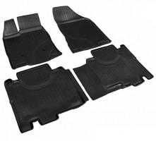 Коврики в салон для Ford Edge '06-16, полиуретановые, черные (Nor-Plast)