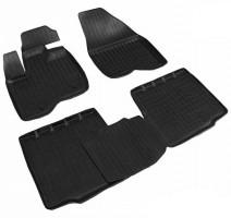 Коврики в салон для Ford Explorer '11-, 5 мест , полиуретановые, черные (Nor-Plast)