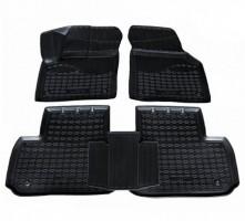 Коврики в салон для Land Rover Discovery Sport '14-, полиуретановые, черные (Nor-Plast)