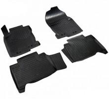 Коврики в салон для Lexus NX '14-, полиуретановые, черные (Nor-Plast)