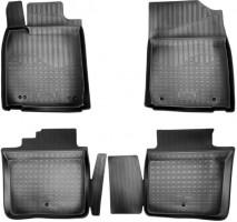 Коврики в салон для Lexus ES '12-, полиуретановые, черные (Nor-Plast)