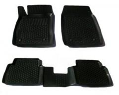 Коврики в салон для Opel Insignia '09- полиуретановые, черные (L.Locker)