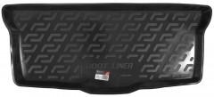 Коврик в багажник для Toyota Aygo '05-14, резино/пластиковый (Lada Locker)