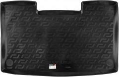 Коврик в багажник для Volkswagen Caravelle T5 '09-15, корот. с печкой, резиновый (Lada Locker)