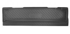 Коврик в багажник для Chevrolet Tahoe '07-13, 7 мест, полиуретановый черный (Nor-Plast)