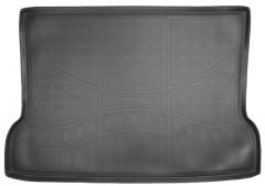 Коврик в багажник для Mercedes GLA X156 '13-, полиуретановый черный (Nor-Plast)