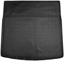Коврик в багажник для Opel Insignia '09- универсал, полиуретановый черный (Nor-Plast)