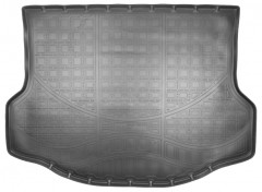 Коврик в багажник для Toyota RAV4 '13-18, с докаткой, полиуретановый черный (Nor-Plast)