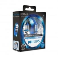 Автомобильные лампочки Philips ColorVision Blue H7 55W 12V (Комплект: 2шт.)