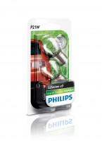 Автомобильные лампочки Philips LongLife EcoVision P21W 21W 12V (Комплект: 2шт.)