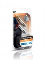 Автомобильные лампочки Philips Standard Vision 12844b2 SV8.5 (T10,5x36), C5W 12 V (к-кт 2 шт.)