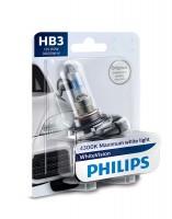 Автомобильная лампочка Philips WhiteVision HB3 65W 12V