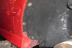 Фото 5 - Подкрылок передний правый для Mitsubishi Lancer 9 '04-09, седан/универсал. (Novline)