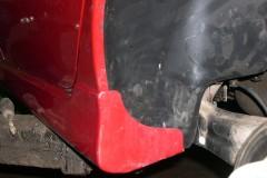 Фото 7 - Подкрылок передний правый для Mitsubishi Lancer 9 '04-09, седан/универсал. (Novline)