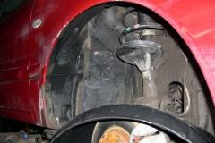 Фото 8 - Подкрылок передний правый для Mitsubishi Lancer 9 '04-09, седан/универсал. (Novline)