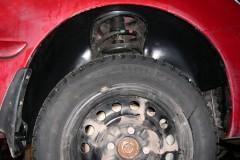 Фото 9 - Подкрылок передний правый для Mitsubishi Lancer 9 '04-09, седан/универсал. (Novline)